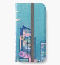 Klassische Shoujo-Himmel iPhone Flip-Case/Hülle/Skin