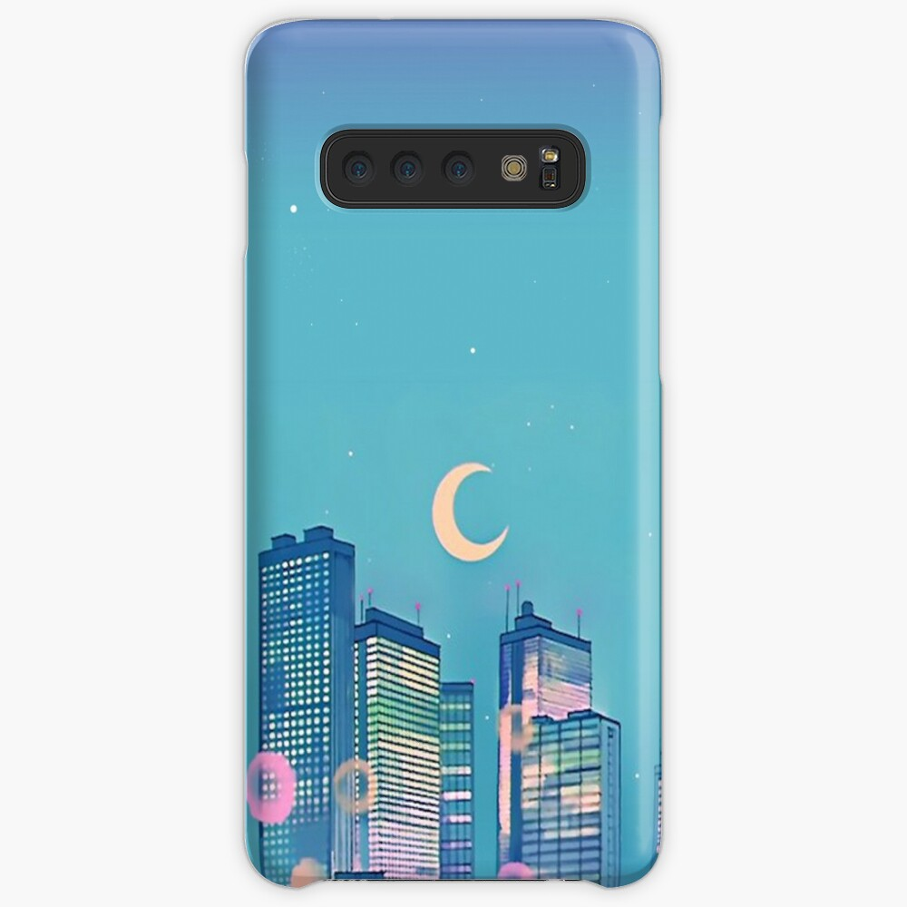 Classic Shoujo skies Case & Skin for Samsung Galaxy