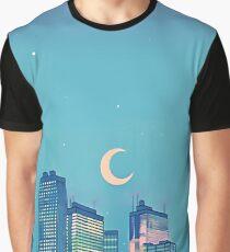 Klassische Shoujo-Himmel Grafik T-Shirt