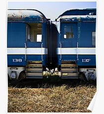 Train Cars 137-138 Poster
