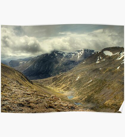 Lairig Ghru and The Pools Of Dee Poster