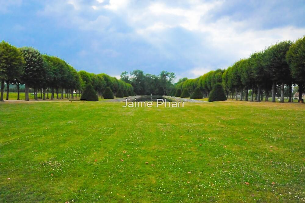 Chateau garden by Jaime Pharr