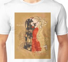 The Invention of the Kiss Unisex T-Shirt
