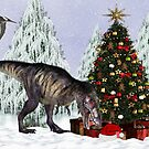 Christmas Dinosaur by LoneAngel