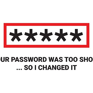 I Changed Your Password by adidabu
