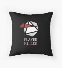Vector - Player Killer Throw Pillow