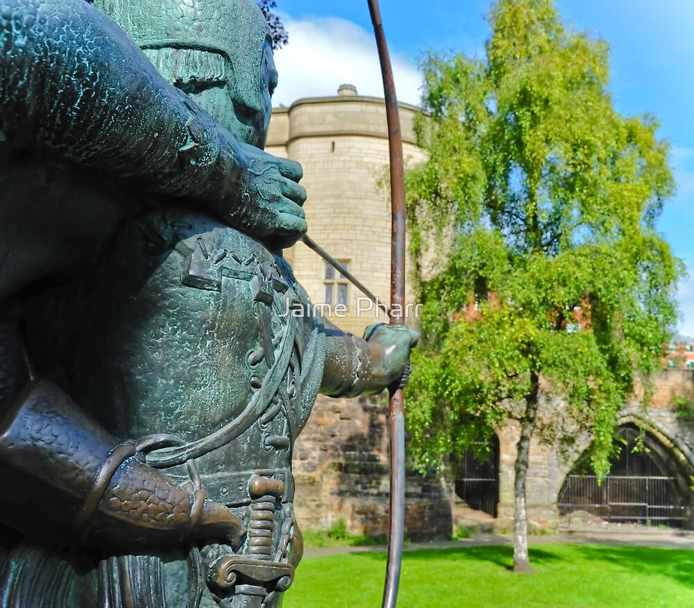 Robin Hood statue by Jaime Pharr