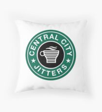 CC Jitters Throw Pillow