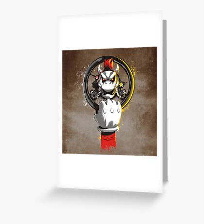 MAD KART Greeting Card