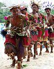 Trobriand Dancers by John Douglas