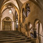 Germany. Munich. New Town Hall. Interior. Staircase. by vadim19