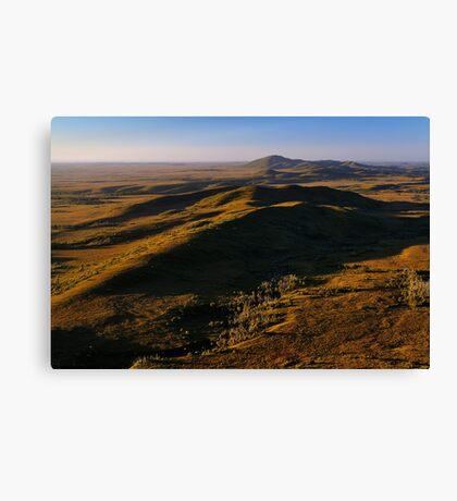 Mt Balfour & The Norfolk Range, Tarkine Landscape, NW Tasmania Canvas Print