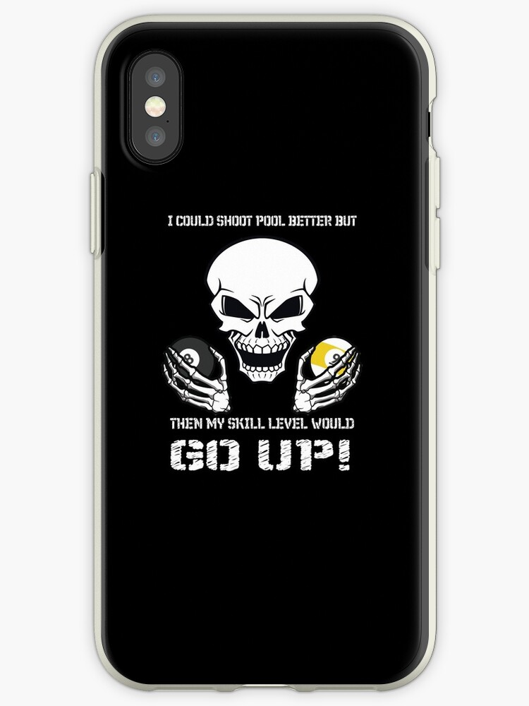competitive price e7e9f 2ae59 'Funny Billiards I could shoot pool better' iPhone Case by DBA-Dezines
