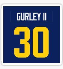 Todd Gurley Jersey Case Sticker eeb5b6749