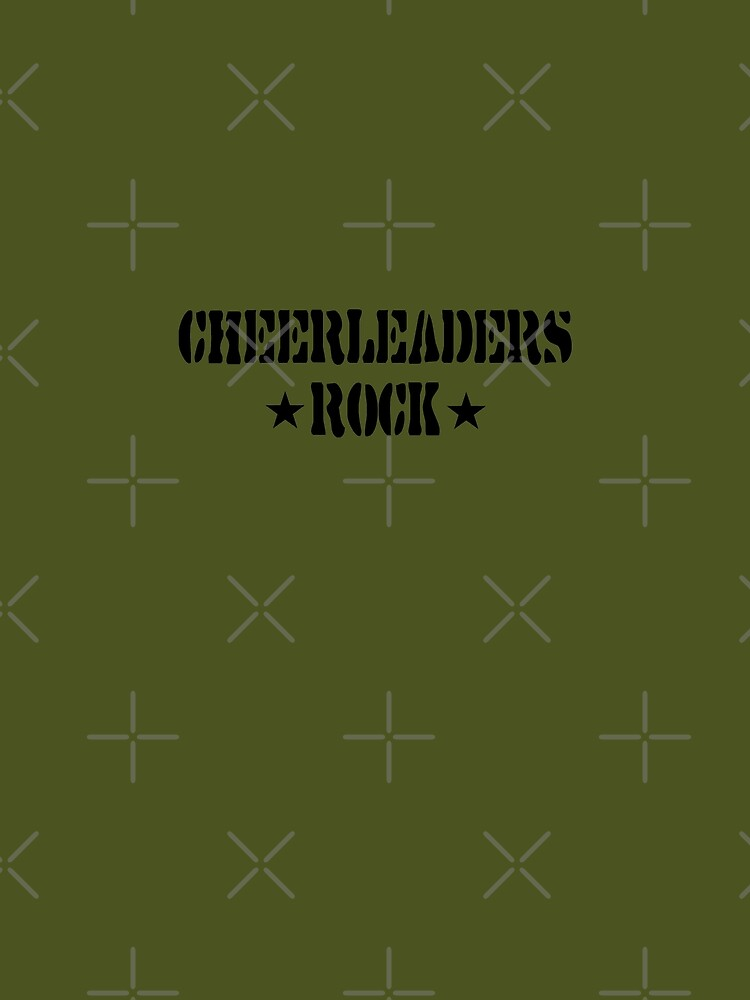 Cheerleaders Rock by SportsT-Shirts