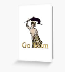 Go Team! Greeting Card