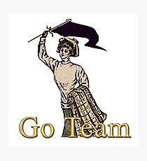 Go Team! Photographic Print