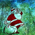 EVEN SANTA GETS LOST SOMETIMES by Tammera