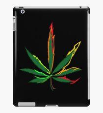 Verrückte Marihuana-Blätter iPad-Hülle & Klebefolie