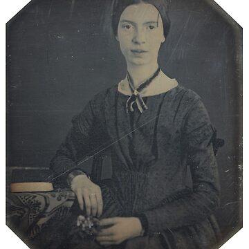 Emily Dickinson by romeobravado