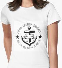 Fall Out Boy Lyrics Women's Fitted T-Shirt