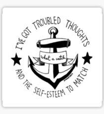 Fall Out Boy Lyrics Sticker