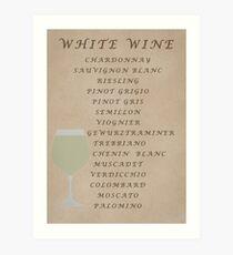 White WinesCanvas Print, Photographic Print, Art Print, Framed Print, Metal Print, Greeting Card, iPhone Case, Samsung Galaxy Case, iPad Case, Throw Pillow, Tote Bag, Art Print