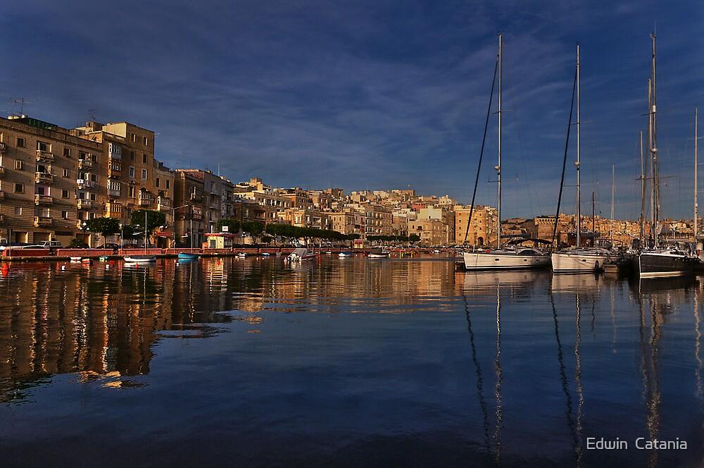 Romantic  Malta --- Senglea & Vittoriosa by Edwin  Catania