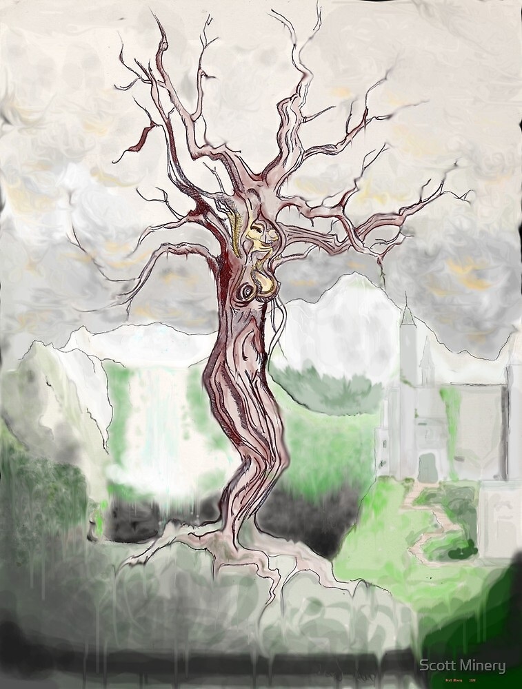 The Wicked Tree Wittch by Scott Minery