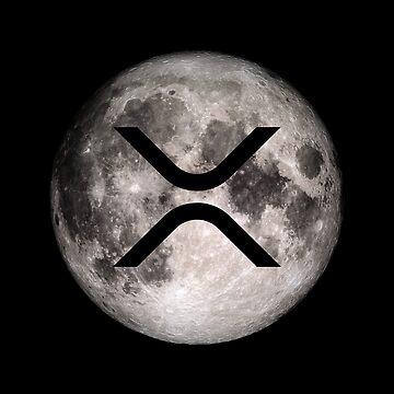 XRP en la luna de hrubiks