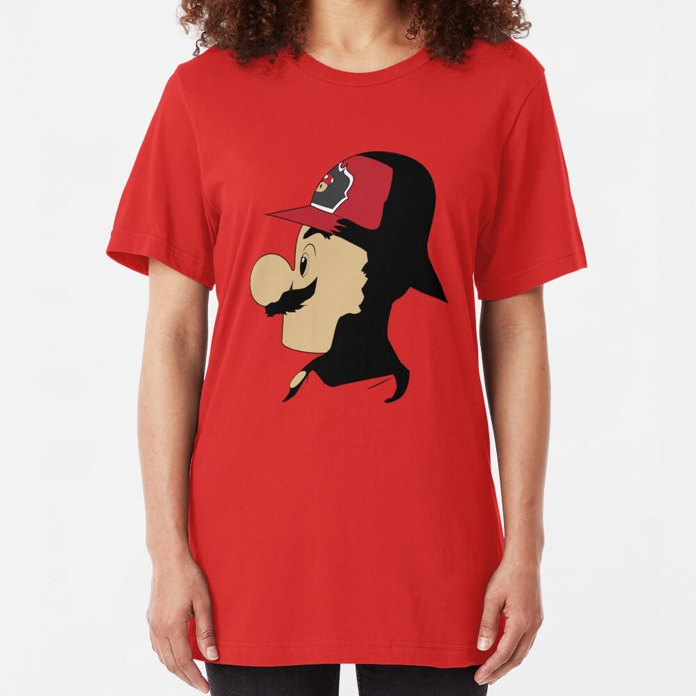 Mario Firefighter Slim Fit T-Shirt