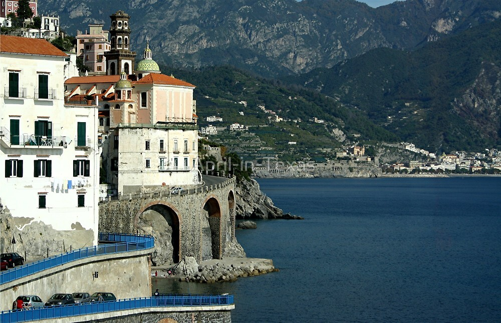 Finally, The (famous) Amalfi Coast...it's as incredible as I'd imagined. by April-in-Texas