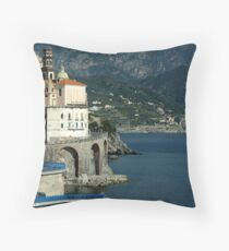 Finally, The (famous) Amalfi Coast...it's as incredible as I'd imagined. Throw Pillow