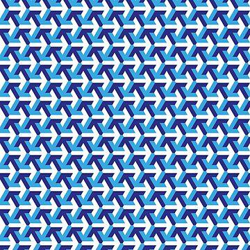 Arrows Blue by Delibobs