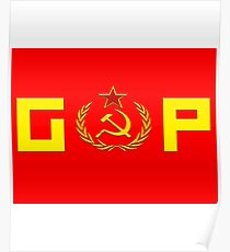 GOP Communist Logo Poster