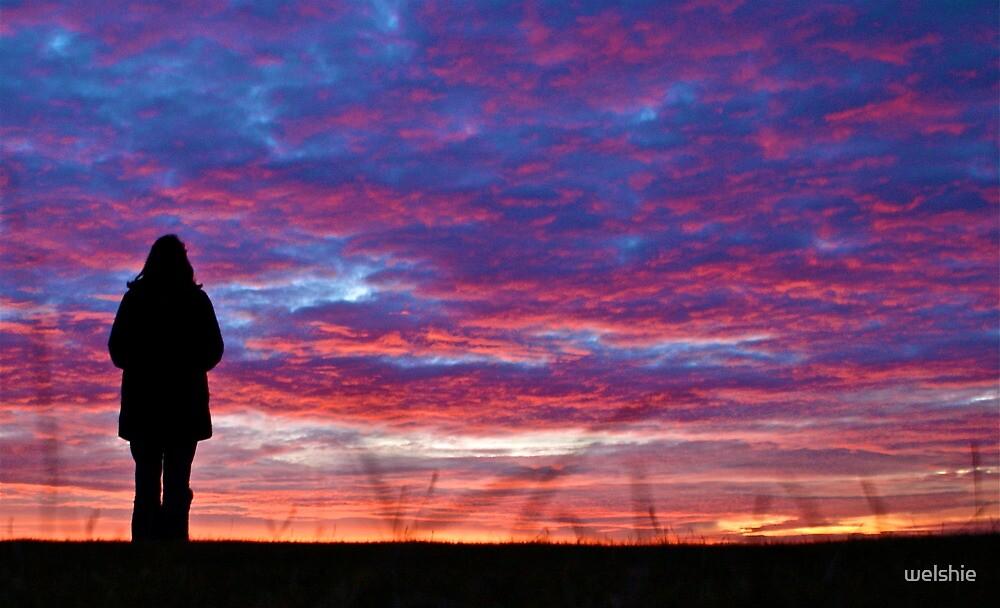 Under the Night Sky - Avon Dasset by welshie