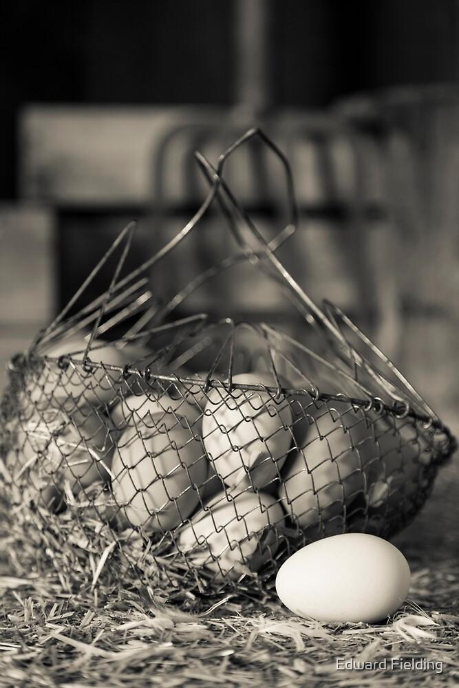 Farm Fresh Eggs by Edward Fielding