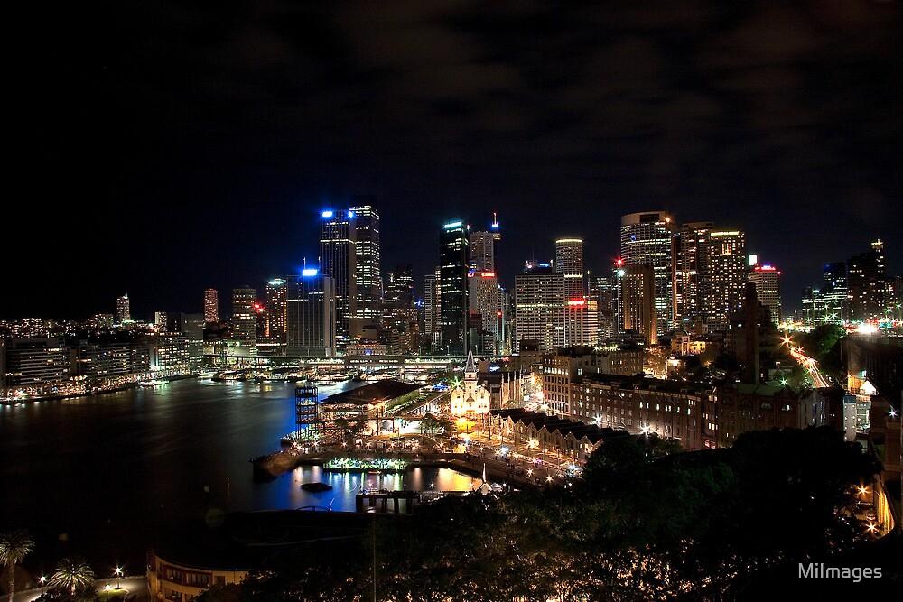 Sydney Nightlights  by MiImages