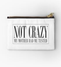 NOT CRAZY Studio Pouch