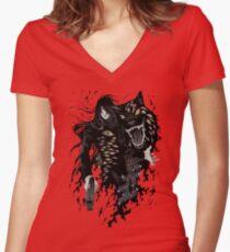 Hellsing Ultimate Women's Fitted V-Neck T-Shirt