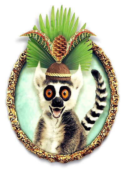 King Julian by LAZY  J