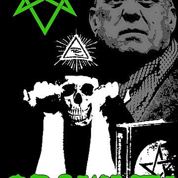 Aleister Crowley by SigilSorcery