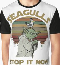 Seagulls stop it now vintage shirt Graphic T-Shirt