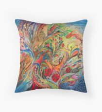 The Blessing of Sea Throw Pillow