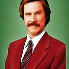 ANCHORMAN - The Legend of Ron Burgundy. by LAZY  J