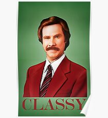 ANCHORMAN - The Legend of Ron Burgundy. Poster