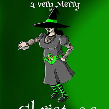 Witching you a very Merry Christmas  by ChuckHalloran