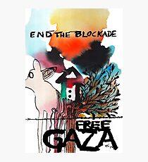 End the Blockade - Free Gaza Photographic Print