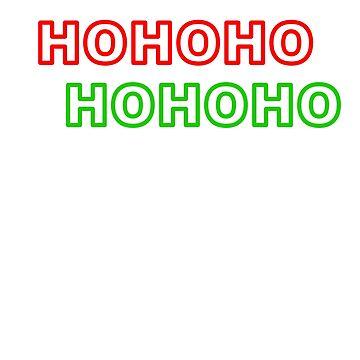 HOHOHO Christmas Pattern by YLGraphics