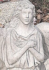 Close-up of statue, Midkiff Cemetery by boondocksaint